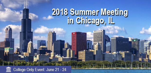 ACTEC 2018 Summer Meeting