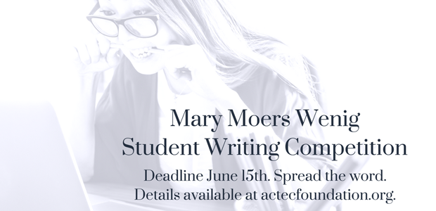 Mary Moers Wenig Writing Competition