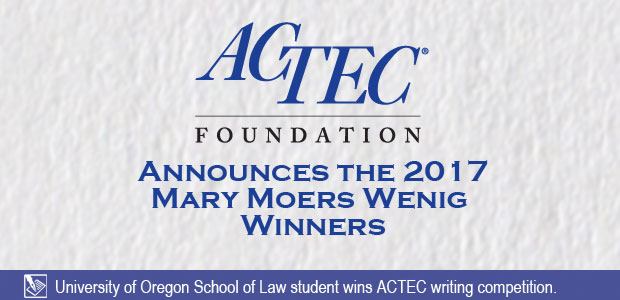 Mary Moers Wenig Writing Competition Announcement
