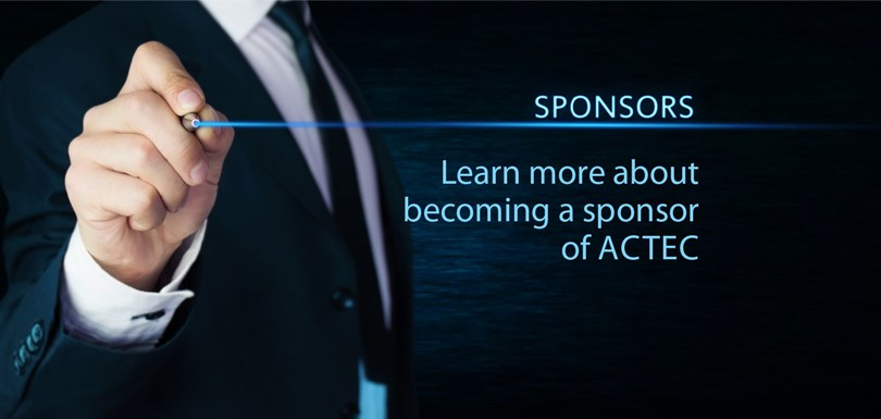 Become a sponsor of ACTEC