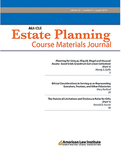 ALI-CLE Estate Planning Course